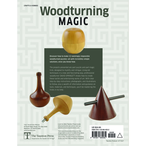 View a Larger Image of Woodturning Magic