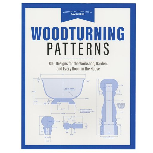 View a Larger Image of Woodturning Patterns