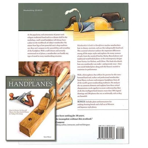 View a Larger Image of Woodworker's Guide to Handplanes