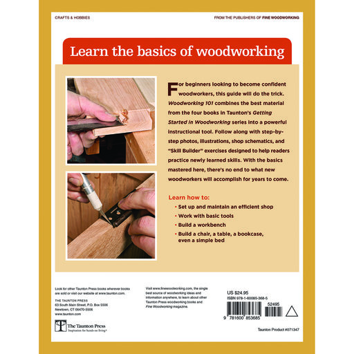 View a Larger Image of Woodworking 101