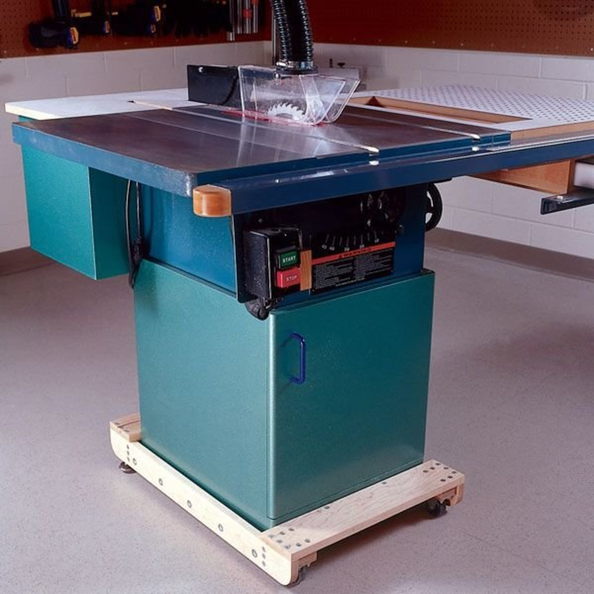 Woodworking Project Paper Plan To Build 3 In 1 Tablesaw Upgrade And