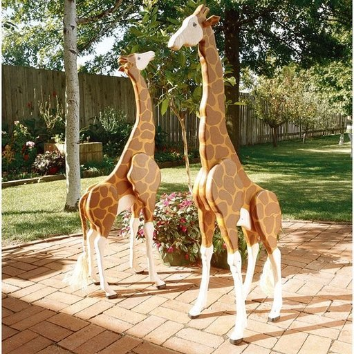 View a Larger Image of Woodworking Project Paper Plan to Build 4 ft. Giraffes