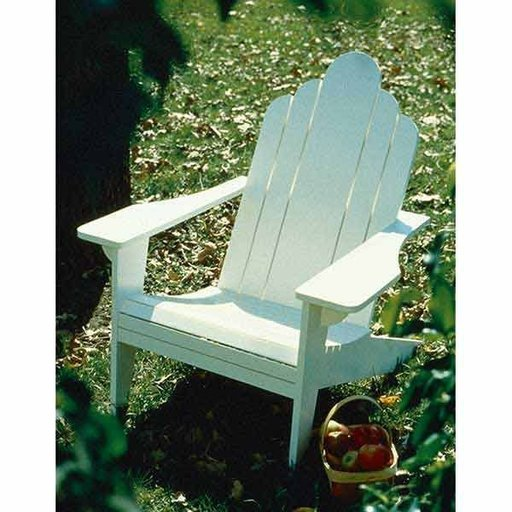 View a Larger Image of Woodworking Project Paper Plan to Build Adirondack Lawn Chair