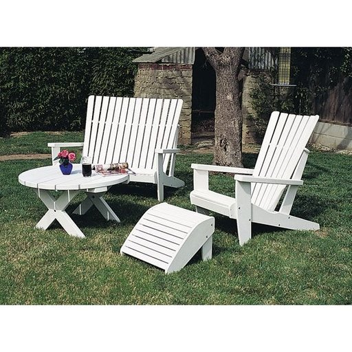 View a Larger Image of Woodworking Project Paper Plan to Build Adirondack Table, Plan No. 813