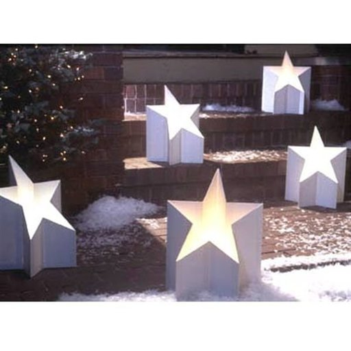 View a Larger Image of Woodworking Project Paper Plan to Build All-Star Luminaria