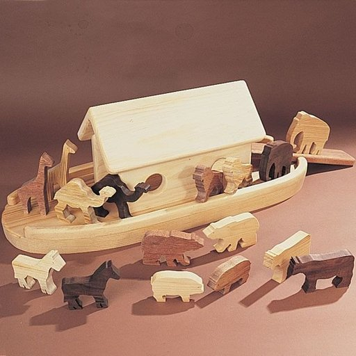 View a Larger Image of Woodworking Project Paper Plan to Build Animal Ark, Plan No. 786