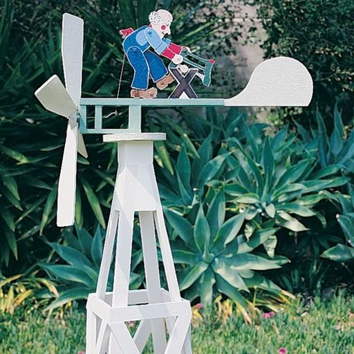 View a Larger Image of Woodworking Project Paper Plan to Build Animated Whirligig, Plan No. 694
