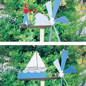 Woodworking Project Paper Plan to Build Animated Whirligigs, Plan No. 767