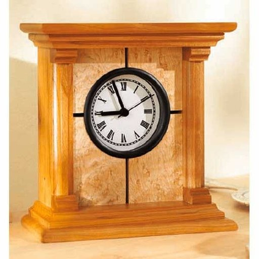 View a Larger Image of Woodworking Project Paper Plan to Build Architectural Clock