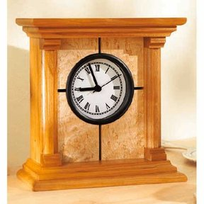 Woodworking Project Paper Plan to Build Architectural Clock