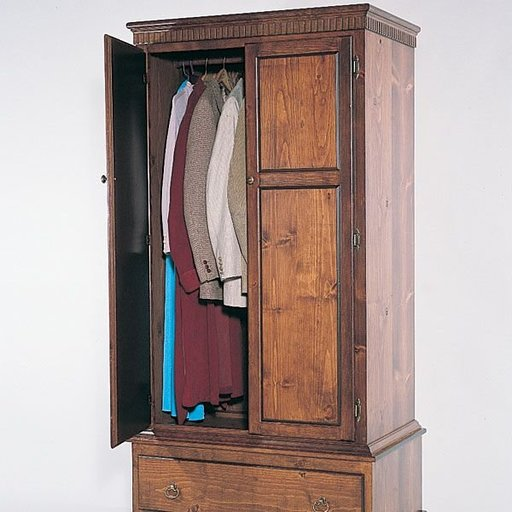 View a Larger Image of Woodworking Project Paper Plan to Build Armoire, Plan No. 729