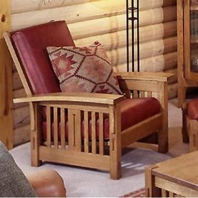 Woodworking Project Paper Plan To Build Arts And Crafts Morris Chair