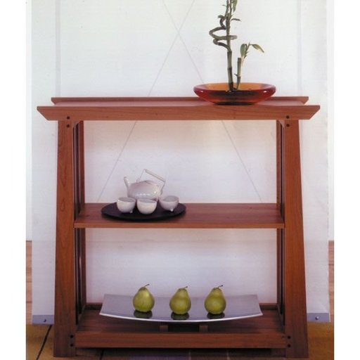 View a Larger Image of Woodworking Project Paper Plan to Build Arts & Crafts Shelf