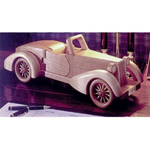 View a Larger Image of Woodworking Project Paper Plan to Build Auburn in.Boattailin. Speedster