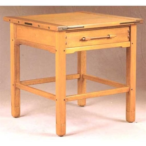 View a Larger Image of Woodworking Project Paper Plan to Build Aurora End Table, AFD343