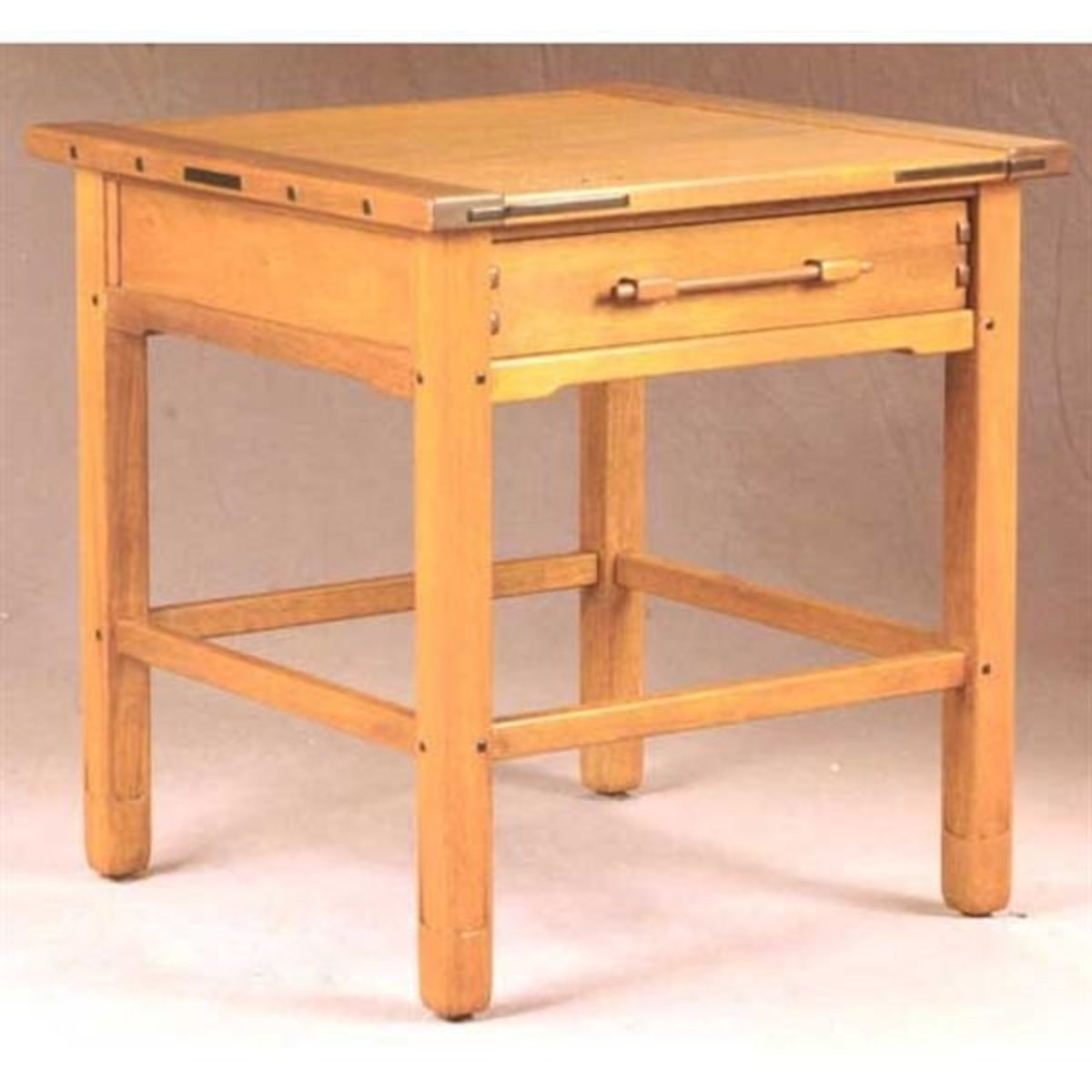 Woodworking Project Paper Plan To Build Aurora End Table AFD - End table with drawer plans
