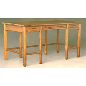 Woodworking Project Paper Plan To Build Aurora Table Desk, AFD341