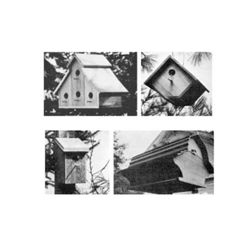 View a Larger Image of Woodworking Project Paper Plan to Build Backyard Birdhouse