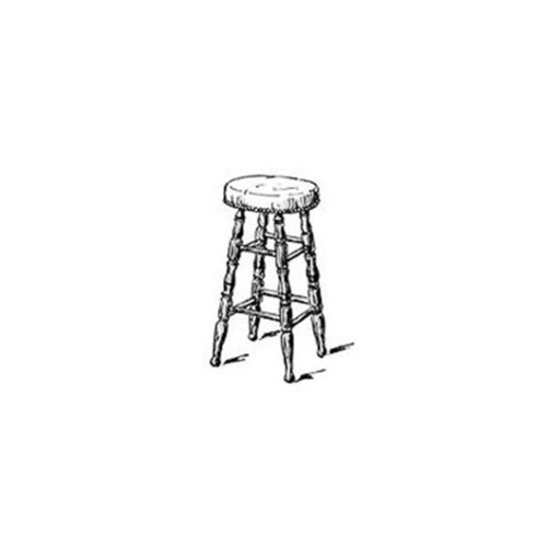 View a Larger Image of Woodworking Project Paper Plan to Build Bar Stool