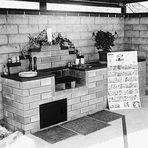 View a Larger Image of Woodworking Project Paper Plan to Build Barbecue, Plan No. 162