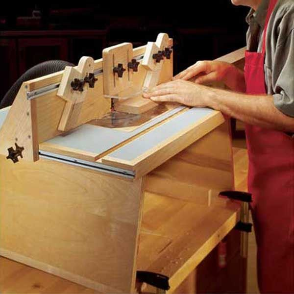 Woodworking project paper plan to build benchtop router table greentooth Image collections