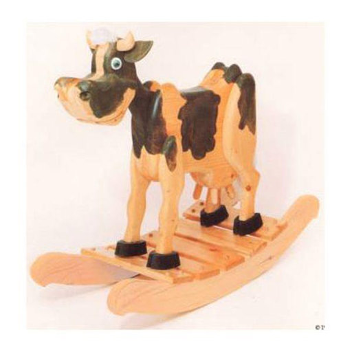 View a Larger Image of Woodworking Project Paper Plan to Build Bessie Cow Rocker