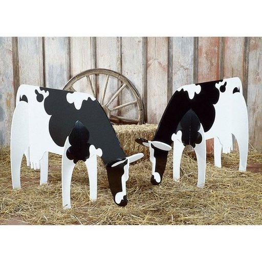 View a Larger Image of Woodworking Project Paper Plan to Build Bovine Beauties