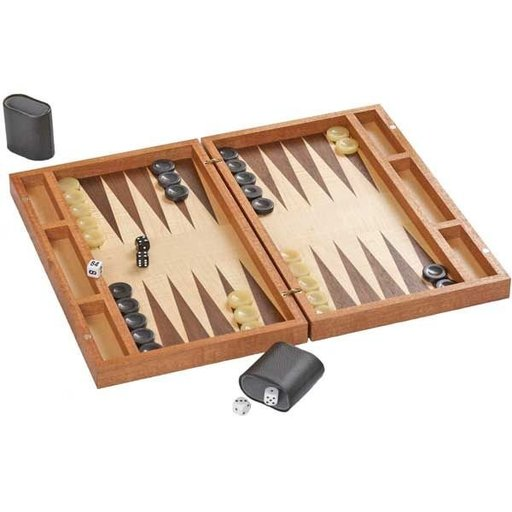 View a Larger Image of Woodworking Project Paper Plan to Build Boxed-Up Backgammon Board