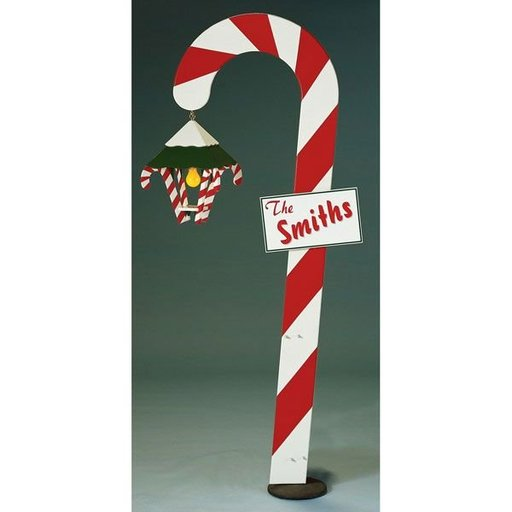 View a Larger Image of Woodworking Project Paper Plan to Build Candy Cane