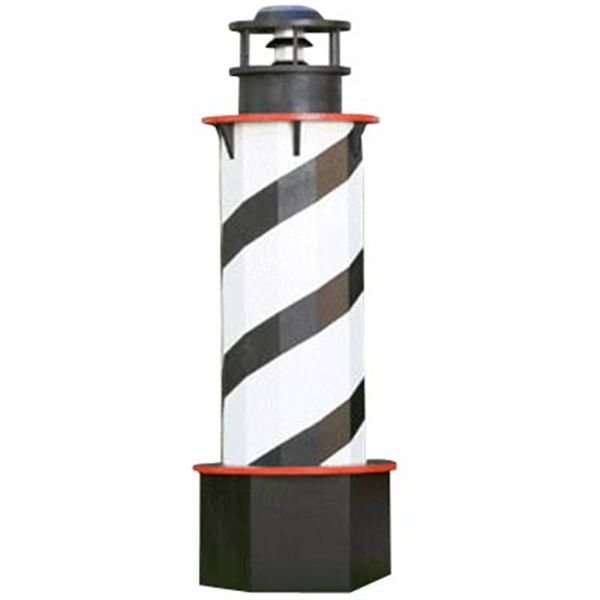 Woodworking Project Paper Plan to Build Cape Lighthouse Plan