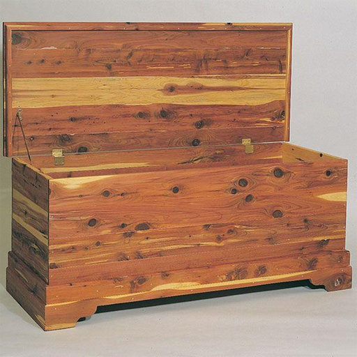 View a Larger Image of Woodworking Project Paper Plan to Build Cedar Chest