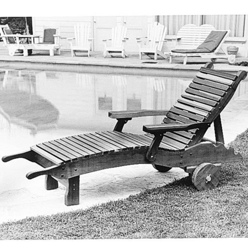 Woodworking project paper plan to build chaise lounge for Build your own chaise lounge