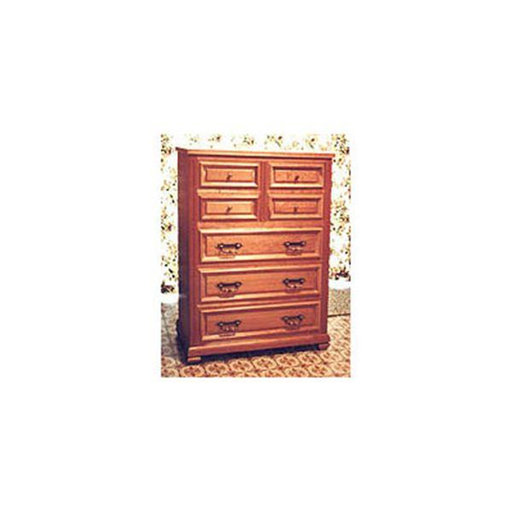 View a Larger Image of Woodworking Project Paper Plan to Build Chest of Drawers 51