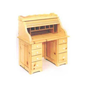 Woodworking Project Paper Plan to Build Child's Roll Top Desk