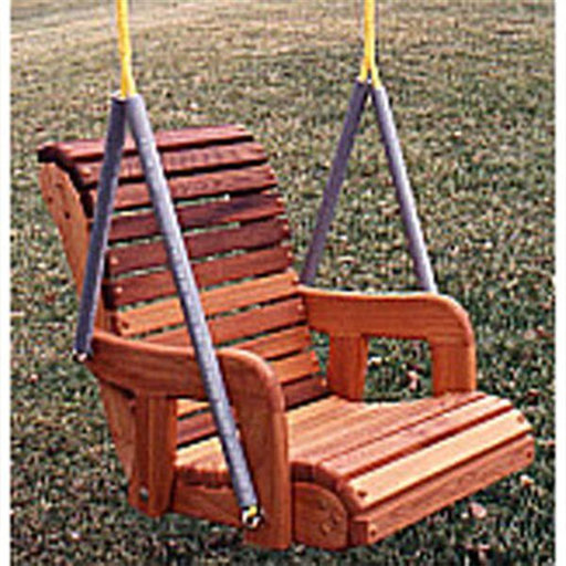 View a Larger Image of Woodworking Project Paper Plan to Build Child's Swing