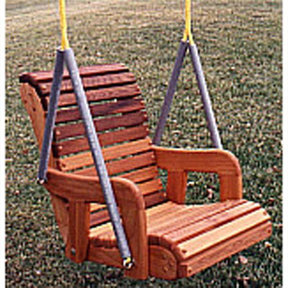 Woodworking Project Paper Plan to Build Child's Swing
