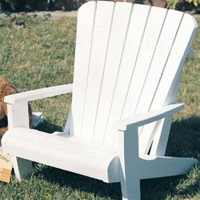 Woodworking Project Paper Plan to Build Child Size Adirondack Chair, Plan No. 892