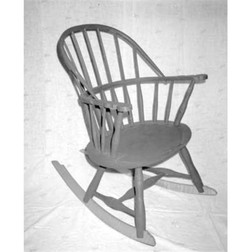 View a Larger Image of Woodworking Project Paper Plan to Build Child's Windsor Chair, AFD106