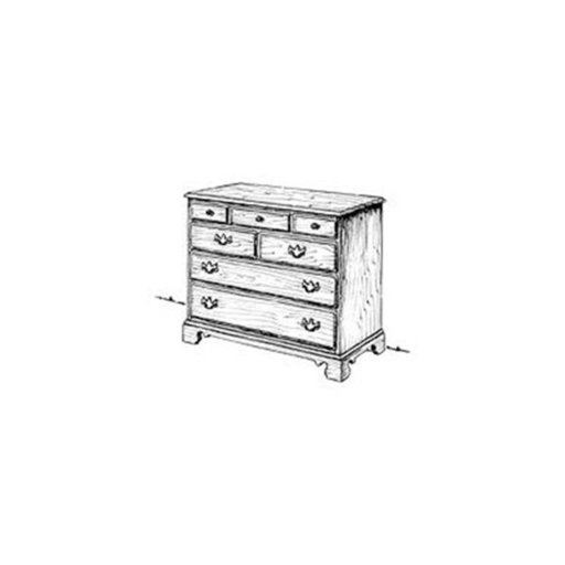View a Larger Image of Woodworking Project Paper Plan to Build Chippendale Chest