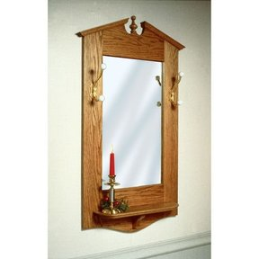 Woodworking Project Paper Plan to Build Chippendale Wall Mirror