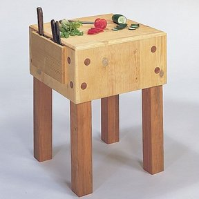 Woodworking Project Paper Plan to Build Chopping Block