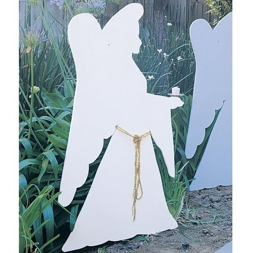 View a Larger Image of Woodworking Project Paper Plan to Build Christmas Angel, Plan No. 852