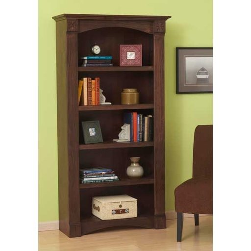 View a Larger Image of Woodworking Project Paper Plan to Build Classic Bookcase