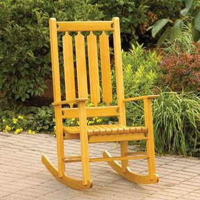 Woodworking Project Paper Plan to Build Classic Rocker