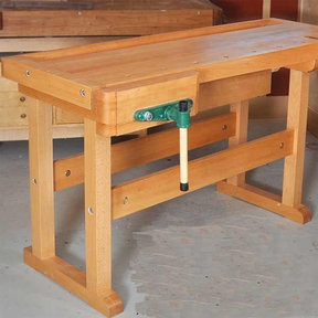 Woodworking Project Paper Plan to Build Classic Workbench