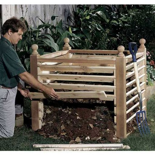 View a Larger Image of Woodworking Project Paper Plan to Build Compost Crib