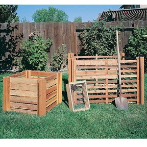 Woodworking Project Paper Plan to Build Composting Bins, Plan No. 841