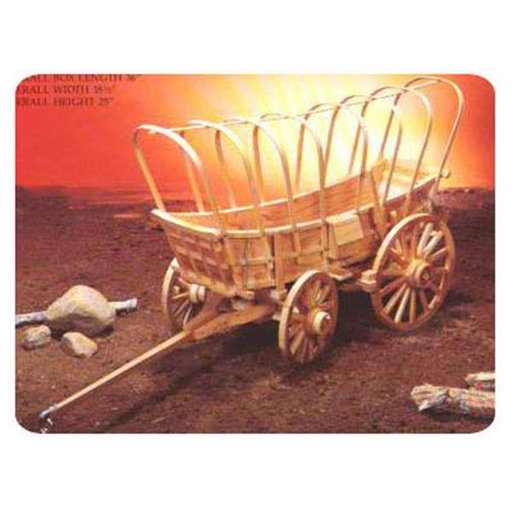 View a Larger Image of Woodworking Project Paper Plan to Build Conestoga Wagon