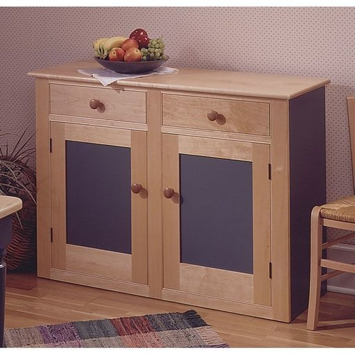 View a Larger Image of Woodworking Project Paper Plan to Build Country Buffet