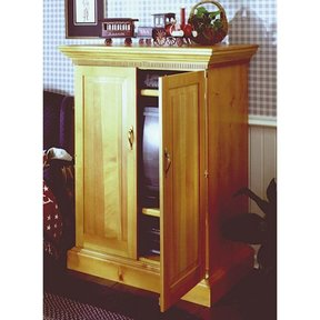 Woodworking Project Paper Plan to Build Country Cabinet